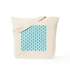 Retro Aqua Tote Bag