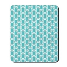 Retro Aqua Mousepad