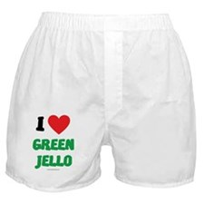 I Love Green Jello - LDS Clothing  -  Boxer Shorts