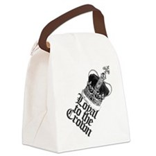 Loyal to the British Crown Canvas Lunch Bag