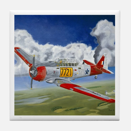 T-6 Texan Tile Coaster