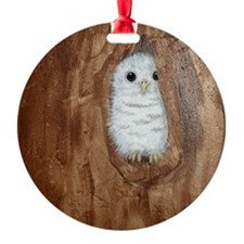 StephanieAM Baby Owl Ornament