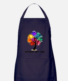 Different, not less! Apron (dark)