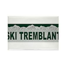 Ski Tremblant, Quebec Rectangle Magnet