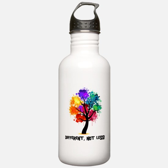 Different, not less! Water Bottle