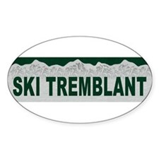 Ski Tremblant, Quebec Oval Decal