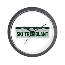 Ski Tremblant, Quebec Wall Clock