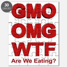 GMO OMG WTF Are We Eating? Puzzle