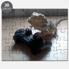 Gaming Bearded Dragon Puzzle