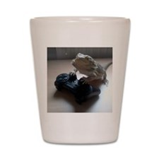 Gaming Bearded Dragon Shot Glass