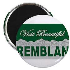 Visit Beautiful Tremblant, Qu Magnet