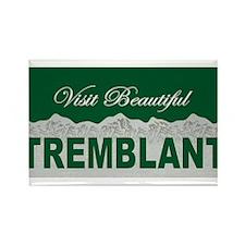 Visit Beautiful Tremblant, Qu Rectangle Magnet