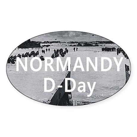 normandy1 Sticker (Oval)