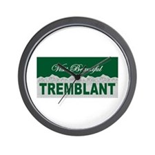 Visit Beautiful Tremblant, Qu Wall Clock