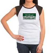 Visit Beautiful Tremblant, Qu Women's Cap Sleeve T