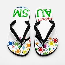 Support Autism Flip Flops