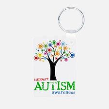 Support Autism Keychains