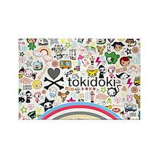 TokiDoki Rectangle Magnet