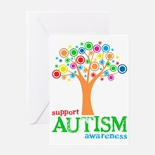 Support Autism Greeting Card