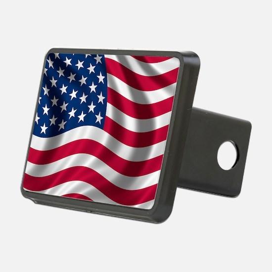 USA Flag Hitch Cover