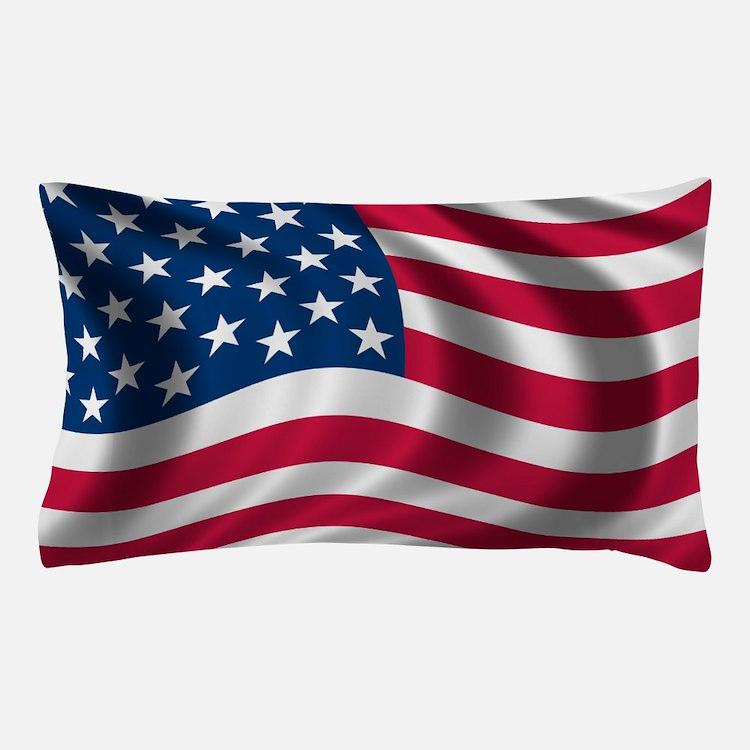 USA Flag Pillow Case