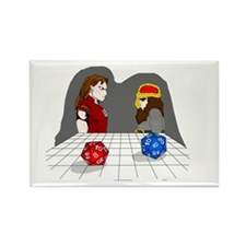Roll of the Dice Rectangle Magnet