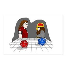 Roll of the Dice Postcards (Package of 8)