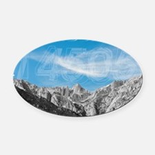 Mt Whitney 14505 Oval Car Magnet