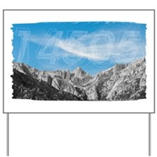 Mt Whitney 14505 Yard Sign