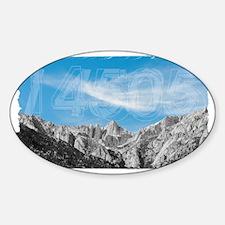 Mt Whitney 14505 Sticker (Oval)