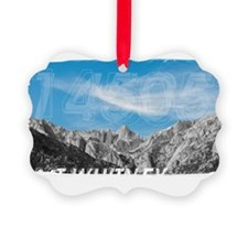 Mt Whitney 14505 Front Picture Ornament