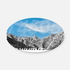 Mt Whitney 14505 Front Oval Car Magnet