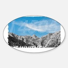 Mt Whitney 14505 Front Sticker (Oval)