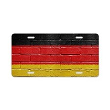 Flag of Germany Aluminum License Plate