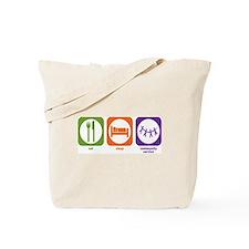 Eat Sleep Community Service Tote Bag