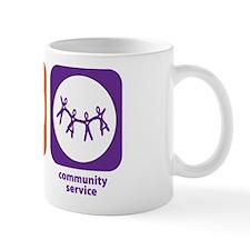 Eat Sleep Community Service Mug