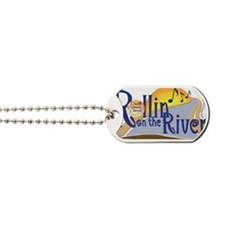 Rollin On The River Concert Logo-Large Dog Tags