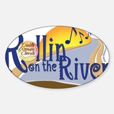 Rollin On The River Concert Logo-La Decal