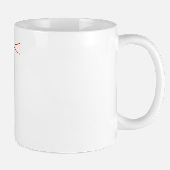 Mt Whitney Elevation Logo White Mug