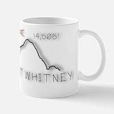 Mt Whitney Elevation Logo Small Small Mug
