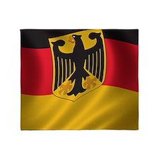 Flag of Germany Throw Blanket