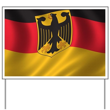 Flag of Germany Yard Sign