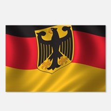 Flag of Germany Postcards (Package of 8)