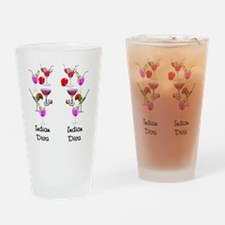 INDIAN DIVA Drinking Glass