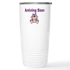 Arriving Soon-pink Travel Mug