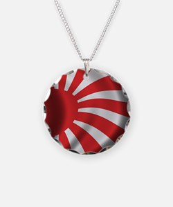 Japan Naval Flag Necklace