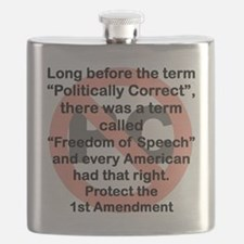 LONG BEFORE THE TERM POLITICALLY CORRECT Flask