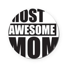 MOST AWESOME MOM Cork Coaster