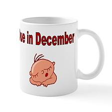 Due in December-baby face Mug