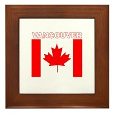 Vancouver, British Columbia Framed Tile